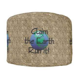 TOP Runner's Earth Pouf