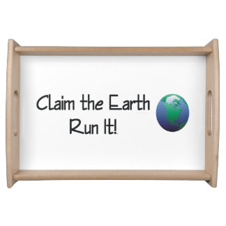 TOP Runner's Earth Serving Tray