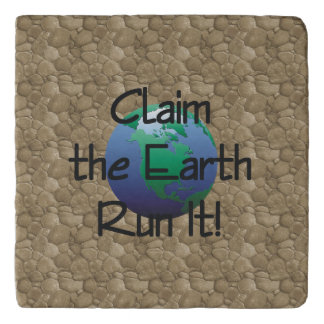 TOP Runner's Earth Trivet