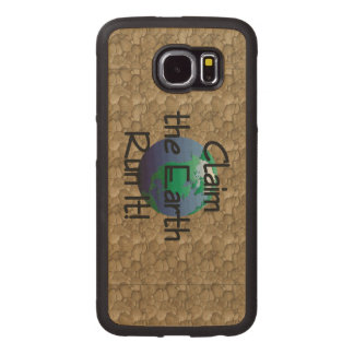 TOP Runner's Earth Wood Phone Case