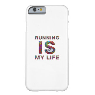 TOP Running is My Life Barely There iPhone 6 Case