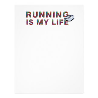 TOP Running is My Life Flyer
