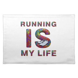 TOP Running is My Life Placemat