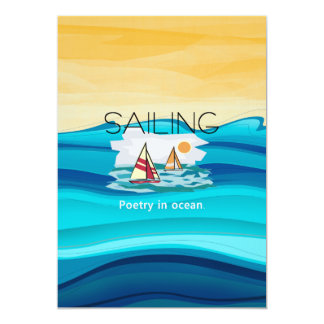 TOP Sail Poetry Card