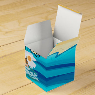 TOP Sail Poetry Favor Box