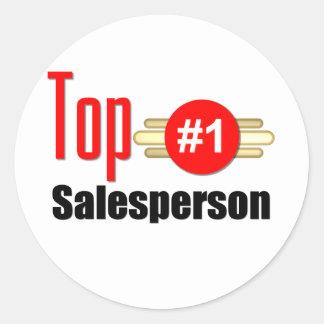 Top Salesperson Stickers