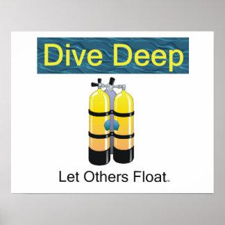 TOP Scuba Diving Poster