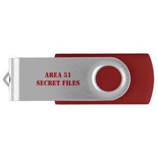 Top Secret Area 51 Files Flash Drive