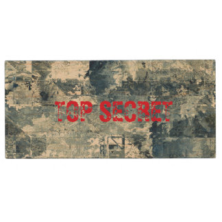 Top Secret Army Navy Air Force Camo Flash Drive