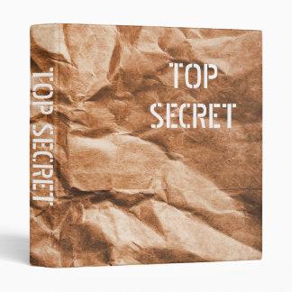 "Top Secret Brown Bag 1"" Photo Album Binder"