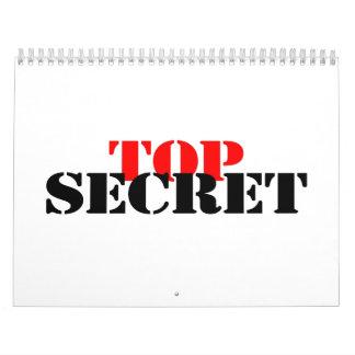 Top Secret Wall Calendars