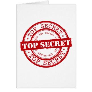 Top Secret Cards