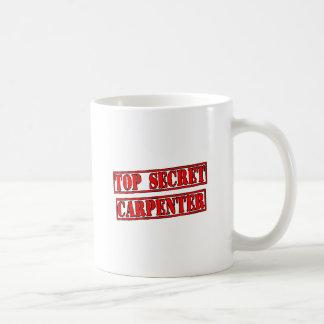 Top Secret Carpenter Classic White Coffee Mug