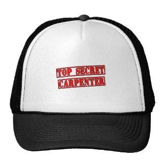 Top Secret Carpenter Trucker Hat