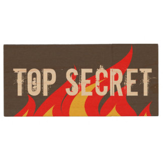 Top secret classified USB pendrive flash drive