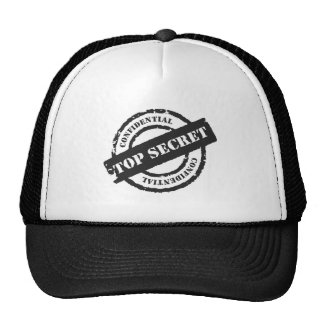 Top Secret Confidential Trucker Hat