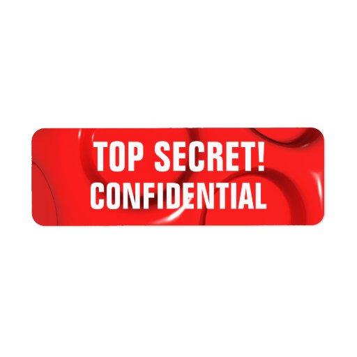 Top Secret - Confidential Labels