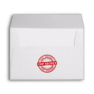 Top Secret Envelopes