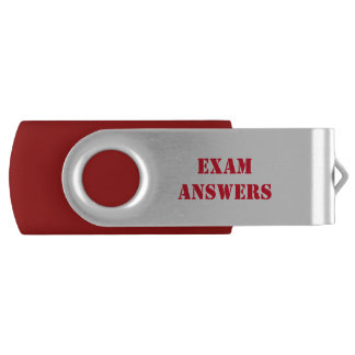 Top Secret Exam Answers Flash Drive