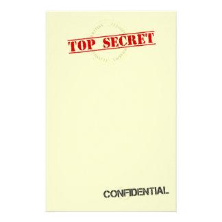 Top Secret Fun Stationary Stationery