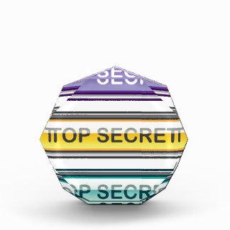 Top Secret Glossy Button Award