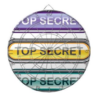 Top Secret Glossy Button Dart Boards