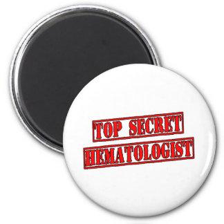 Top Secret Hematologist Refrigerator Magnets