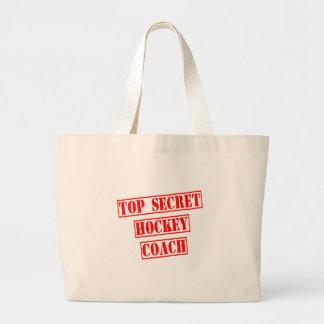 Top Secret Hockey Coach Tote Bag