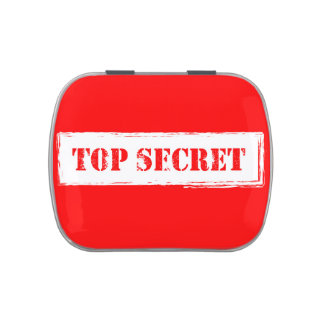 Top Secret Jelly Belly™ Candy Tin