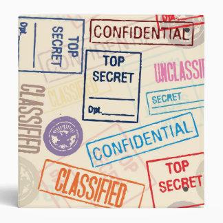 Top Secret, Keep Out Binders