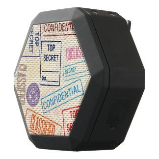 Top Secret - Keep Out Black Bluetooth Speaker