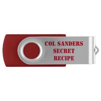 Top Secret KFC Recipe USB Flash Drive
