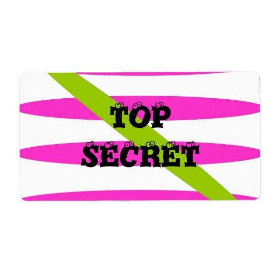 Top Secret Label
