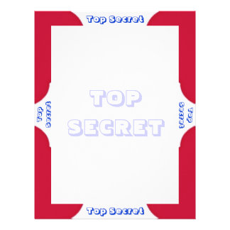 TOP SECRET letterhead
