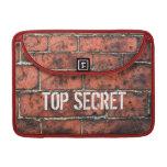 Top Secret Macbook Pro Case Sleeve For MacBooks