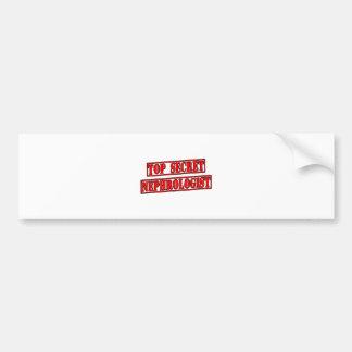Top Secret Nephrologist Bumper Sticker
