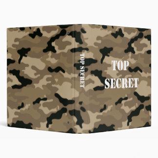 Top Secret Papers Binder