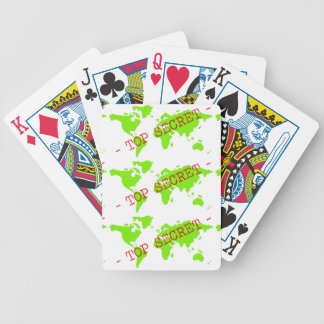 Top Secret Bicycle Playing Cards