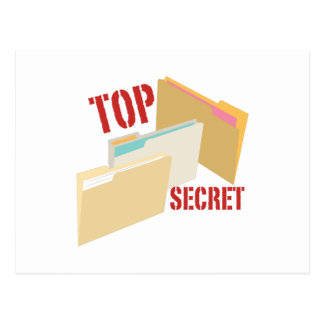 Top Secret Postcard