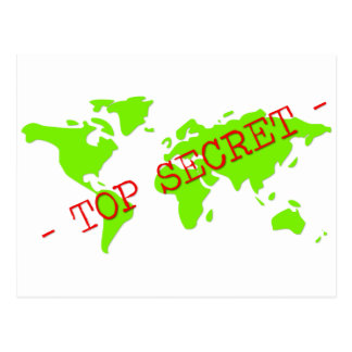 Top Secret Postcard