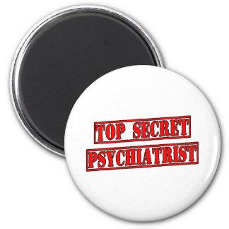 Top Secret Psychiatrist Fridge Magnet