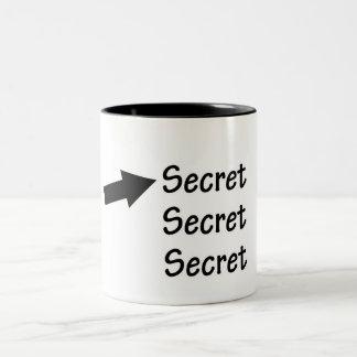 Top Secret Rebus Puzzle Mug