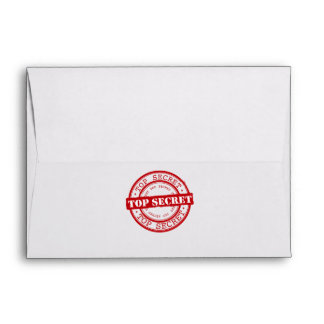 Top Secret Seal Envelope