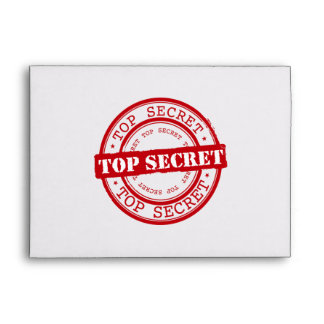 Top Secret Seal Envelopes