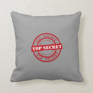 Top Secret Seal Throw Pillow