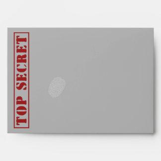 TOP SECRET Speech Bubble Custom Envelopes