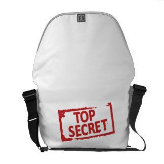 Top Secret Stamp Messenger Bag