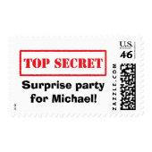 Top secret, surprise party for [name]