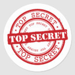 Top Secret Stickers