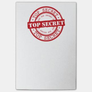 Top Secret Post-it® Notes